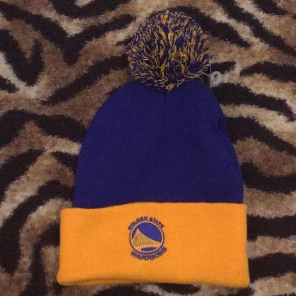 3f00d66519 NWT Golden State Warriors Beanie Winter Hat OSFA